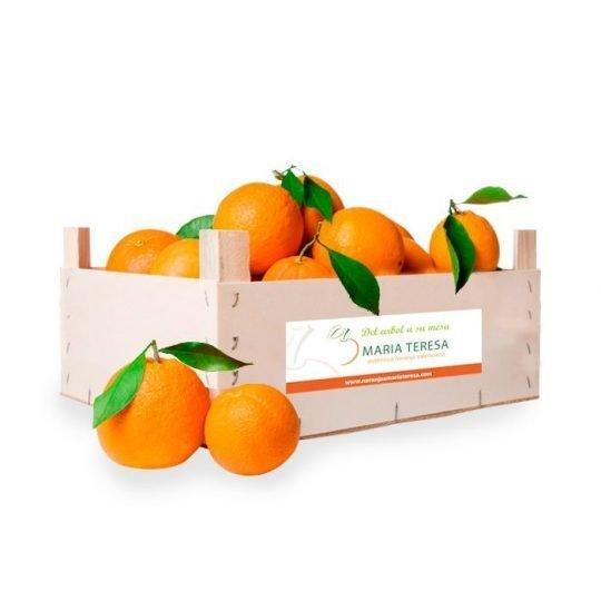 Caja mixta de 5kg de Naranja y 5kg de Mandarina - Peso 10kg