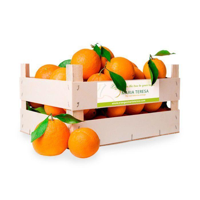 Caja de Naranjas de mesa - Peso 15Kg