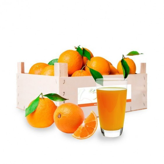Caja mixta de 5kg de Naranja para zumo y 5kg de Mandarina - Peso 10kg